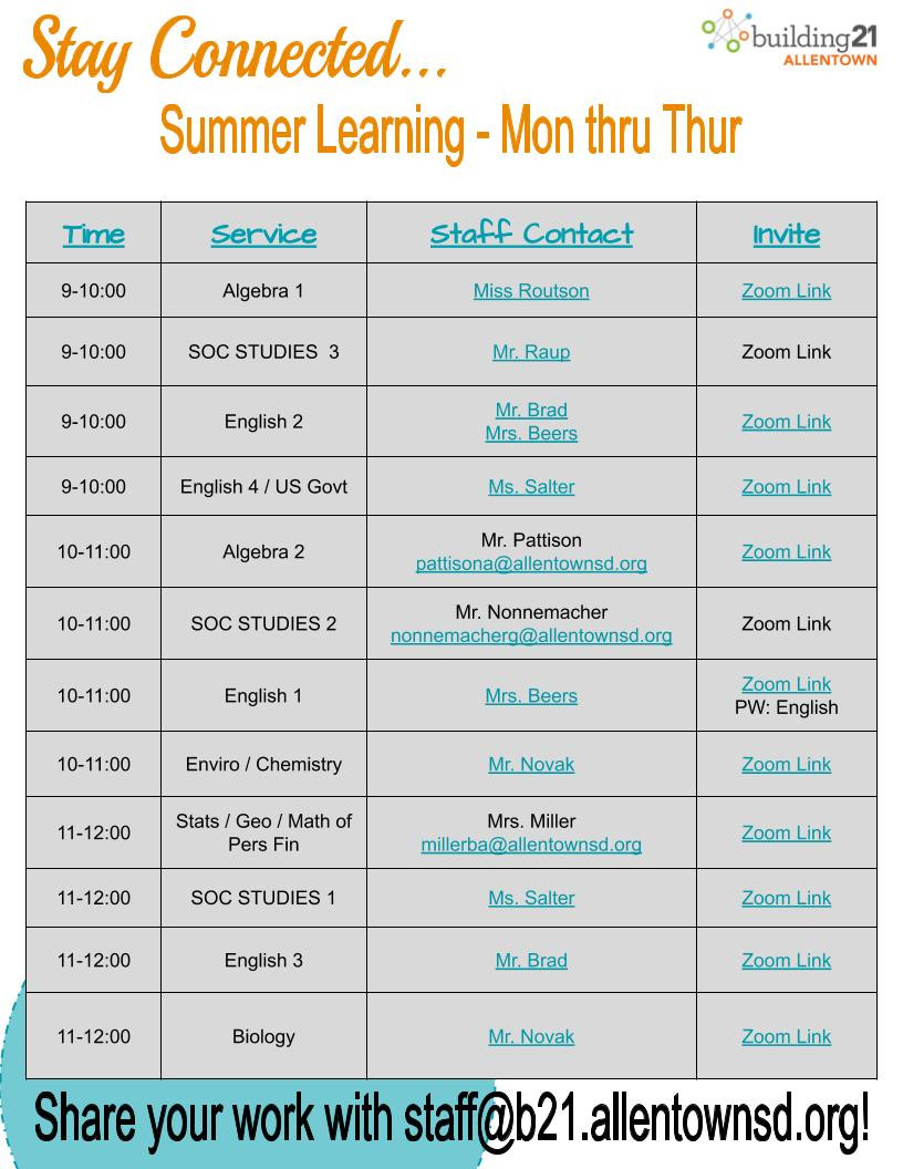 Summer Distance Learning Office Hours (1)